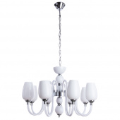 Люстра Arte Lamp LAVINIA A1404LM-8WH