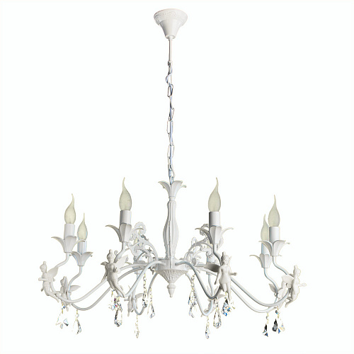 Люстра Arte Lamp ANGELINA A5349LM-8WH - фото 1