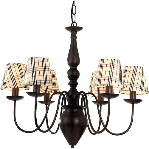 Люстра Arte Lamp SCOTCH A3090LM-6CK - фото 1