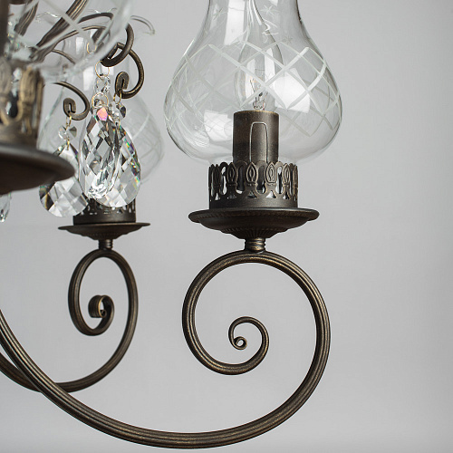 Люстра Arte Lamp PALERMO A2053LM-6BR - фото 4