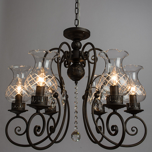 Люстра Arte Lamp PALERMO A2053LM-6BR - фото 2