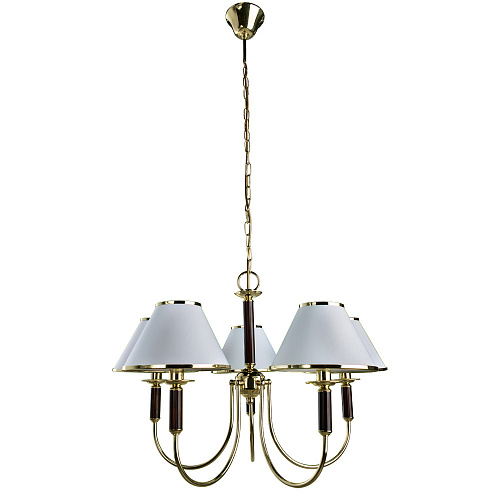 Люстра Arte Lamp CATHRINE A3545LM-5GO - фото 1