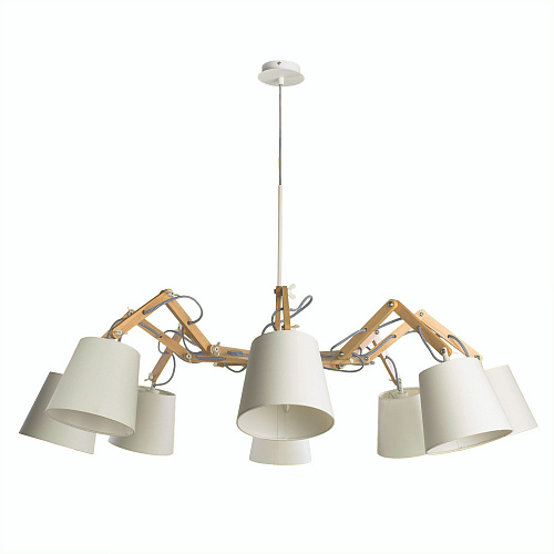 Люстра Arte Lamp PINOCCHIO A5700LM-8WH - фото 1