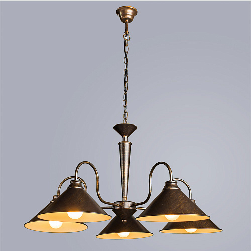 Люстра Arte Lamp CONE A9330LM-5BR - фото 1