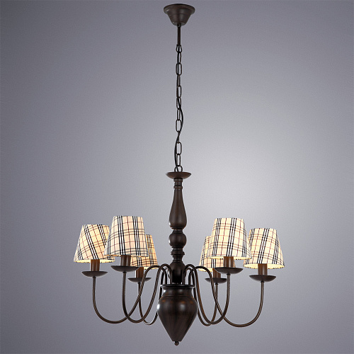Люстра Arte Lamp SCOTCH A3090LM-6CK - фото 2