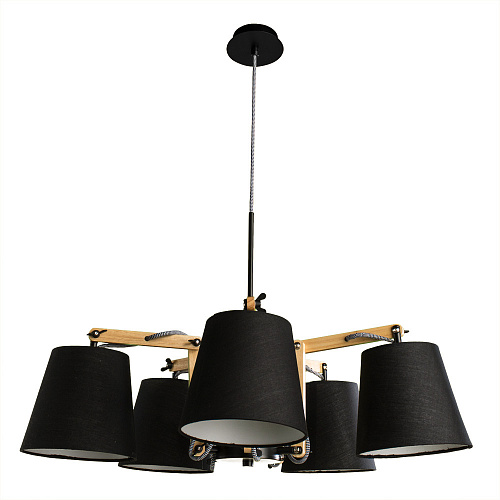 Люстра Arte Lamp PINOCCHIO A5700LM-5BK - фото 2