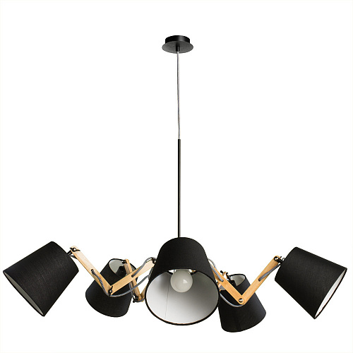 Люстра Arte Lamp PINOCCHIO A5700LM-5BK - фото 1
