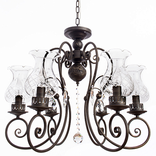 Люстра Arte Lamp PALERMO A2053LM-6BR - фото 1